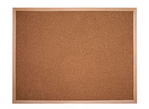 Cork board or bulletin board Stock Photography