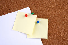 Cork board - close up Royalty Free Stock Photos