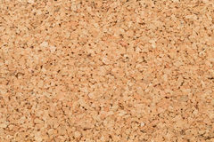 Cork board. In closeup as background Royalty Free Stock Photos