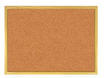Cork board (corkboard). Royalty Free Stock Images