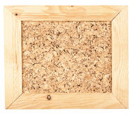 Cork board  in a frame Royalty Free Stock Images