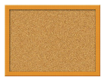 Cork Board Illustration Stock Photos