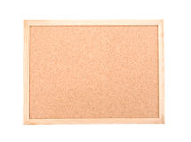 Cork board isolated over white background Stock Image