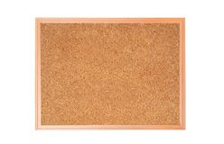 Cork-board isolated on white Stock Photo