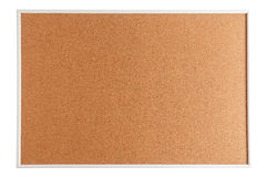 Cork board isolated on white Royalty Free Stock Images