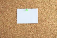 Cork board and memo Stock Photos