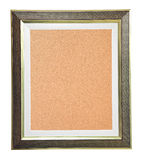 Cork Board Modern Frame Stock Photo