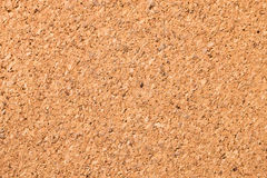 Cork board. One piece cork board background Stock Images