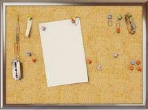 Cork board vector illustration