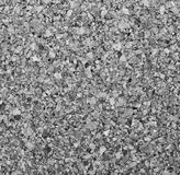 Cork board texture as background. In black and white toned. Stock Image