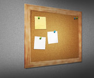 Cork Board on Wall Royalty Free Stock Photo