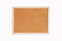 Cork board with wooden frame Royalty Free Stock Photo