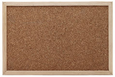 Cork board with wooden picture frame Royalty Free Stock Photos