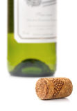 Cork and bottle Stock Photography
