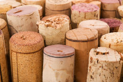 Cork from bottles Royalty Free Stock Images