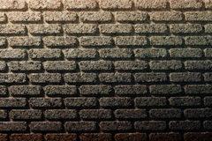Cork bricks wall Royalty Free Stock Images