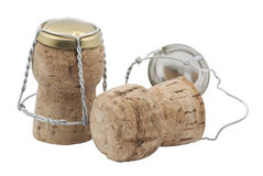 Cork from champagne Royalty Free Stock Photos