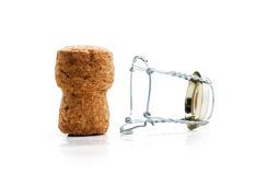 Cork from champagne Royalty Free Stock Photography