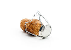 Cork from champagne Stock Photography
