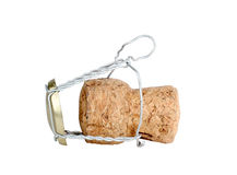 Cork of champagne Royalty Free Stock Images