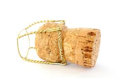 Cork from champagne bottle Royalty Free Stock Photo