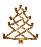 Cork Christmas-boom Royalty-vrije Stock Afbeeldingen