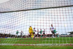 Cork City FC vs Dundalk FC at Turners Cross for the League of Ireland Premier Division