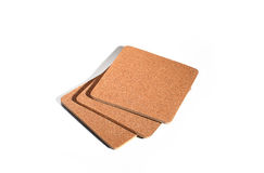 Cork coasters Royalty Free Stock Image