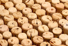 Cork detail bottle background Royalty Free Stock Photos