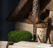 Cork Farmhouse Royalty Free Stock Photo