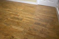 Cork Flooring - renovación Foto de archivo libre de regalías