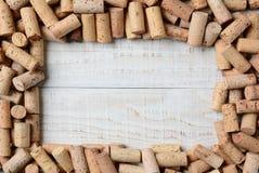 Cork Frame Foto de archivo libre de regalías