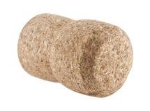 Cork. Isolated on white background Stock Image
