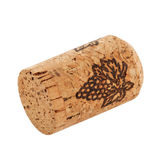 Cork isolated on white stock image