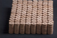 Cork for making. Fishing rods Royalty Free Stock Photos