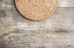 Cork mat Royalty Free Stock Images