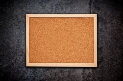 Cork memory board Royalty Free Stock Photography