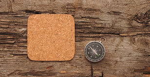 Cork memory board Royalty Free Stock Photo