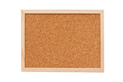 Cork memory board. Nice cork memory board with wooden frame Royalty Free Stock Images