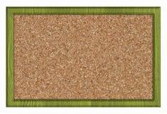 Cork noticeboard royalty-vrije stock afbeelding