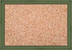 Cork noticeboard stock afbeeldingen