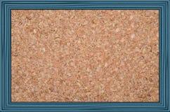 Cork noticeboard stock afbeelding