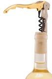 Cork opener. Isolated Royalty Free Stock Image