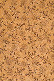 Cork panel texture Stock Image