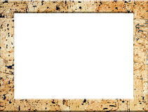 Cork picture frame Royalty Free Stock Photo
