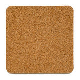 Cork Plate Isolated Stock Photography