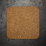 Cork plate texture Royalty Free Stock Photography