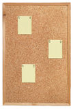 Cork prikbord Royalty-vrije Stock Afbeelding