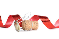 Cork of ribbon Stock Photo