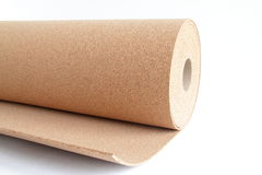 Cork roll Stock Image